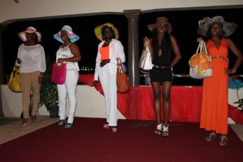 Despite strong opposition, the decision of the judges held through which at the end of the second round of the competition saw Ms. Sharena Joseph (2nd from left)walking away as the winners claiming a trip for two to Porto Rico or St. Maartin and second was Detrina Travernier (2nd from right)who won herself a trip for two to Anegada. Photo: VINO