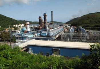 A USVI power plant. Photo: Internet souce