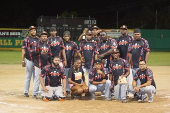 Power Outage defeated the A's 10-6, to sweep their championship series 3-0 early Saturday morning, July 22, 2017. Photo: Andre 'Shadow' Dawson