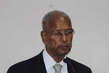 Premier Dr The Honourable D. Orlando Smith has slapped down suggestions that the Virgin Islands shares a place along with Bermuda and the Cayman islands as the top three 'notorious' tax havens in the world. Photo: VINO