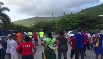 The New Life Baptist Church in Duffs Bottom is set on covering all the major islands of the VI by year end with their latest Prayer Walk initiative. Photo: Facebook
