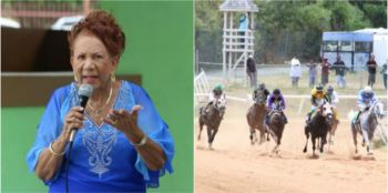 It is believed that local horse owners' president, Mrs. Pasty C. Lake, has a plan to help potential horse owners purchase some reasonably priced horses to help boost the 'Sport of Kings' and keep it alive. Photo Credit: VINO/File