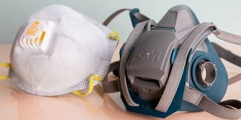 Respirator masks for smoke and dust. Photo is not of actual masks to be distributed by the Government of the Virgin Islands. Photo: Wirecutter