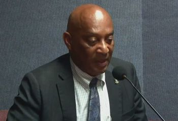 Minister for Natural Resources, Labour and Immigration, Honourable Vincent O. Wheatley (R9) has added his voice in expressing condolences and at the same time singing the praises of the late pilot Maria Rodriguez, who was one of four persons who died in a helicopter crash in St Thomas, US Virgin Islands (USVI) on the afternoon of Monday, February 15, 2021. Photo: Facebook