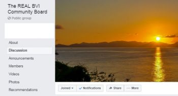 Dissatisfied with how the page is being run, some residents of the Virgin Islands decided to form another page, The REAL BVI Community Board, which has been joined by more than 3,500 persons since it was created on July 7, 2019. Photo: Facebook