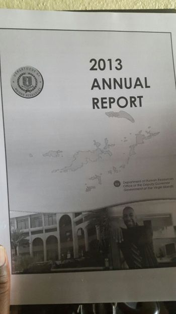 Meanwhile, the Government of the Virgin Islands Human Resources Department has been rocked by many challenges as outlined in its 2013 annual report. The reported laid on the table of the House of Assembly (HoA) on Monday 2 November, 2015 at the Fourth Sitting of the First Session of the Third HoA was presented by Premier and Minister of Finance Dr. The Honourable D. Orlando Smith. Photo: VINO