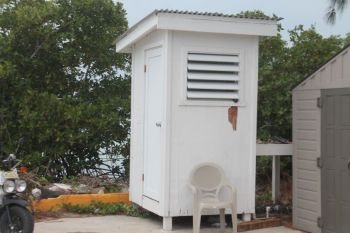 The BVI Tourist Board operated, rest room, prior to Hurricane Irma in 2017. Photo: Provided
