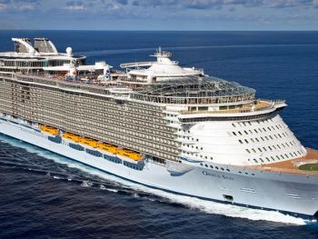 The OASIS of the Seas, a $1.4 billion luxury ship by Royal Caribbean that accommodates 6,300 passengers. Photo: Internet Source