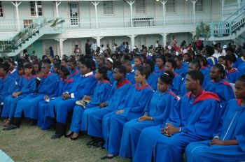 one of the graduating classes at the CFBC. Photo: CUOPM