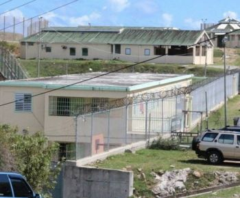 There was drama at Her Majesty's Prison today, February 10, 2017 after prisoners allegedly began to make threats to fellow inmates and Prison officers, forcing Prison officials to call in the riot Police. Photo: VINO/File