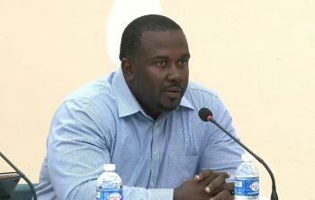 With opposition meetings on the United Kingdon/Virgin Islands relations and the UK Loan guarantees continue tonight September 17, 2019, in the Cane Garden Bay community, Opposition Leader Marlon A. Penn(R8) says BREXIT is another factor that remains a concern for the Territory. Photo: Facebook