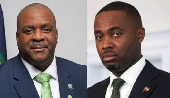 According to Virgin Islands (VI) Premier Andrew A. Fahie, the territory continues in discussions with Bermuda's Premier David Burt to let Him know, 'that the same God who strengthen the people of the Virgin Islands is the same God who will strengthen him and his people of Bermuda.' Photo: GIS/Internet Source