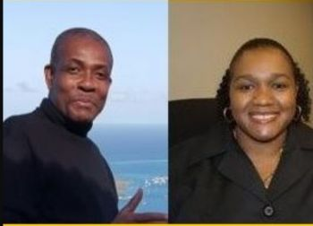 Three persons from the Virgin Islands had made the list for DPP, including two from the office of the DPP Valston M. Graham, left, and Tiffany R. Scatliffe-Esprit, right. Ms Kim Hollis QC; however, was given the nod. Photo: VINO/File