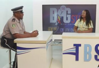 "Officer Glen Callwood was at the time speaking on the Thursday, October 24, 2019, edition of JTV's ""The Big Story"" with host Cathy O. Richards, where he was detailing several challenges facing the Force with regards to traffic violations. Photo: Facebook"