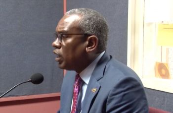 USVI Governor Albery Bryan Jr on the Tuesday, February 4, 2020, edition of Honestly Speaking radio show in the Virgin Islands. Photo: Facebook/File