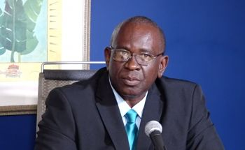 Minister for Health and Social Development, Hon Carvin Malone (AL) told VINO that authorities learnt of the positive test of the individual who attended the funeral from lab results, however, no further details were provided. Photo: VINO/File