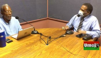 Dr Pickering was at the time speaking on constitutional review process during the Monday, October 12, 2020, edition of the Umoja show alongside host Cromwell Smith aka 'Edju En ka'. Photo: Facebook