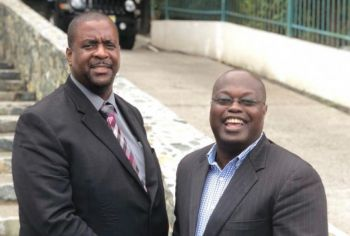 Both Premier Andrew A. Fahie and HoA Speaker, Hon Julian Willock believes that the Youth Parliament is a step on the right direction for the VI. Photo: VINO/File