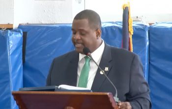 Premier Andrew A. Fahie announced the plans during today's November 12, 2020, Budget Speech for 2021. Photo: HoA/Youtube