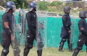 According to to the Top CoP, 'For the vast majority of law enforcement here in the BVI, the mandate is clear. Those that participate in illegal activity will be brought to justice.' Photo: RVIPF/File
