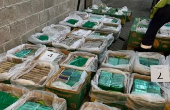 The UK's love affair with cocaine was recently placed in the limelight on Valentine's day February 14, 2021, when a £184 million drug haul was busted in banana imports from Colombia. Photo: Internet Source