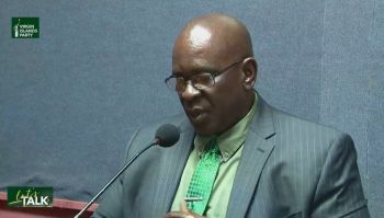 Hon Carvin Malone also noted that the single new active case brings VI total recorded cases to 154 with 152 recoveries and one death, however, he remarked that more cases were expected. Photo: Facebook/File