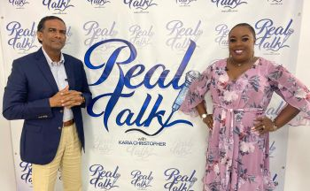 Dr Kedrick D. Pickering appeared as a guest on the Sunday, April 4, 2021, edition of Real Talk with Karia J. Christopher on Flow Television and broadcasted online. Photo: Facebook