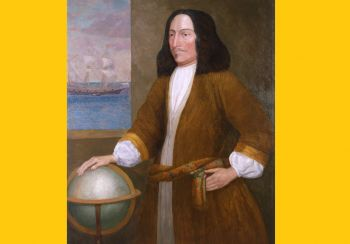 George Somers was a privateer or licenced pirate who was given permission to plunder as long as he gave a cut to the British crown. Photo: Provided