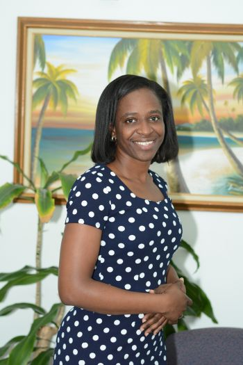 Young Professional and Registered Nurse Stacey Bartley hopes to pursue a degree in Mental Health so as to help persons in the Virgin Islands afflicted with mental health issues. Photo: Provided
