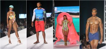 Swimwear collections during the BVI's Swim and Resort runway show on Friday, July 21, 2017 at the Multi-Purpose Sports Complex in Road Town. Photo: VINO