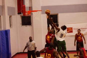 Action from last night's game - Bayside Blazers against Game Boyz. Photo: Andre 'Shadow' Dawson