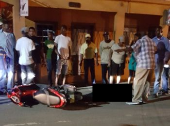 The scene of a shooting in Road Town, Tortola on March 10, 2017: For 2017 there have been 7 homicides committed in a space of six months- the highest ever for the tiny British Overseas Territory. Five of the murders have been as a result of gun violence. Photo: VINO/File