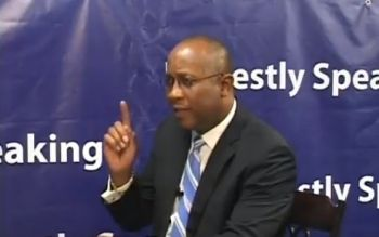 Talk show host and former BVI Ports Authority boss Mr Claude O. Skelton-Cline has called for the House of Assembly (HoA) building to be repaired with haste. Photo: Youtube/File