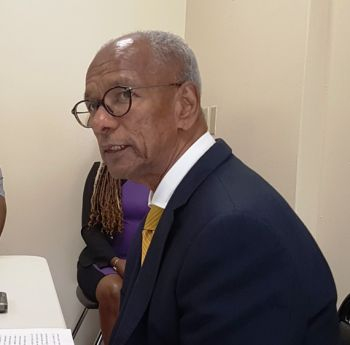 The sitting NDP At Large members are Premier Dr the Honourable D. Orlando Smith, who lost his seat as the NDP Chairman, but will not run again. Photo: VINO/File