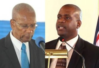 Speakers at the 17th annual H. Lavity Stoutt Memorial Celebration and Wreath Laying Ceremony on Monday March 6, 2017 will include Premier and Leader of Government Business Dr The Honourable D. Orlando Smith (AL), left, and Leader of the Opposition and First District Representative, Hon Andrew A. Fahie, right. Photo: VINO/File