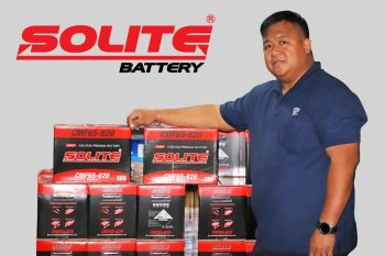Tortola Auto Group (TAG) Parts Manager, Mr Tirso Tuppil said, whether it is a car battery, battery for trucks, battery for bus, agricultural machinery battery, industrial battery - Solite has all variants of batteries for different types of applications. Photo: Provided