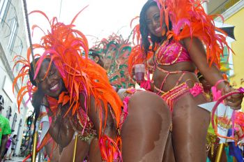 Revellers in the Adult parade on Saturday April 30, 2016. Photo: VI Consortium