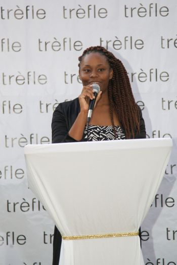 Trefle's online boutique was launched during a ceremony held at the J.R. O'Neal Botanical Gardens on March 26, 2014 and Proprietor Ms Kristin Frazer related that the turnout signalled a success both for its supporters and customers. Photo: provided