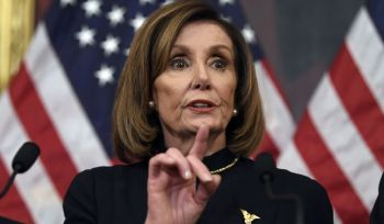 House Speaker Nancy P. Pelosi has said it might delay sending the articles of impeachment to the Senate, in order to bargain on the terms of the proceedings. This could put off the trial for an indefinite period. Photo: Washington Times
