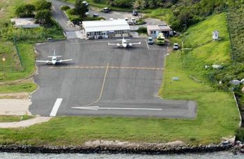 The Taddy Bay Airport on Virgin Gorda. Photo: Internet Source
