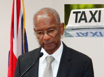 Premier and Minister of Finance Dr The Honourable D. Orlando Smith (AL) continues to be blasted by taxi and livery operators for cancelling two cruise ship calls to the Territory this week. Photo: VINO/File