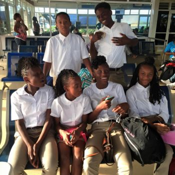 Competing against their regional counterparts, at the CAC Age Group Championships, the BVI team also included Sha'El Lavacia, Xiomora Malone, Elisha Hayde, Tashara Edwards and Ariyah Smith, but it was Malaki A. Smith who led the charge for medals with some stirring performances. Photo: Provided