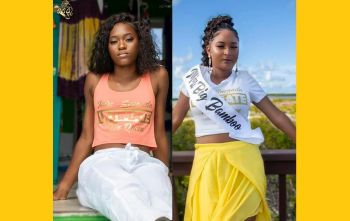Anjali Elicia Levons, right, and Kimberly Ashanti Smith, left, will be going head to head for the title of Miss Anegada Ultimate Teen Queen on December 15, 2019. Photo: Facebook