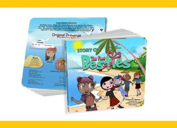 'Story of the Five Besties' is a locally illustrated children's book penned by Chelsea A. E. Simpson. Photo: Provided