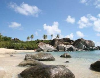 It is unclear how much revenue is being lost in the tourism sector with the continued closure of The Baths on Virgin Gorda. Photo: BVI Tourism