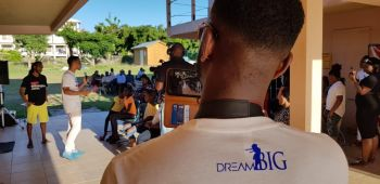 The Dream Big Group over the weekend held a number of activities as part of its 'Back to School motivational Drive, featuring speakers, Ms Stephanie I. Faulkner-Williams, Mr Dwayne J. Straun, Mrs Angelle A. Cameron, Ms Gabrielle Hoyte, Dr Amber V. Wheatley and Mr Billionaire PA. Photo: Provided