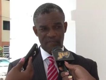 Junior Minister for Tourism Honourable Archibald C. Christian (AL) also noted that he has concerns with the Recovery and Development Agency. Photo: Youtube