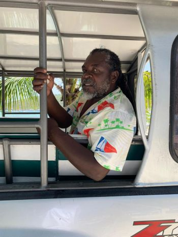 Taxi professional and Jost van Dyke (JvD) resident Mr Edric D. Chinnery has noted that he sees the elected officials 'more often' and there is 'a sense of hope on JvD' since the Andrew A. Fahie (R1) led Virgin Islands Party (VIP) came to power. Photo: VINO