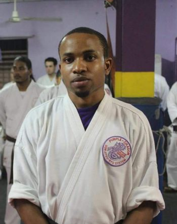 The multi-talented Jovan E. L. Cline holds a 2nd degree black belt in Don Jitsu Ryu and has represented the Virgin Islands at various tournaments overseas. Photo: Provided