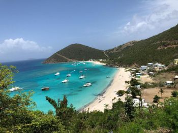 White Bay, Jost van Dyke: Businesses in that area have noted improvements since the change of government in the Virgin Islands. Photo: VINO